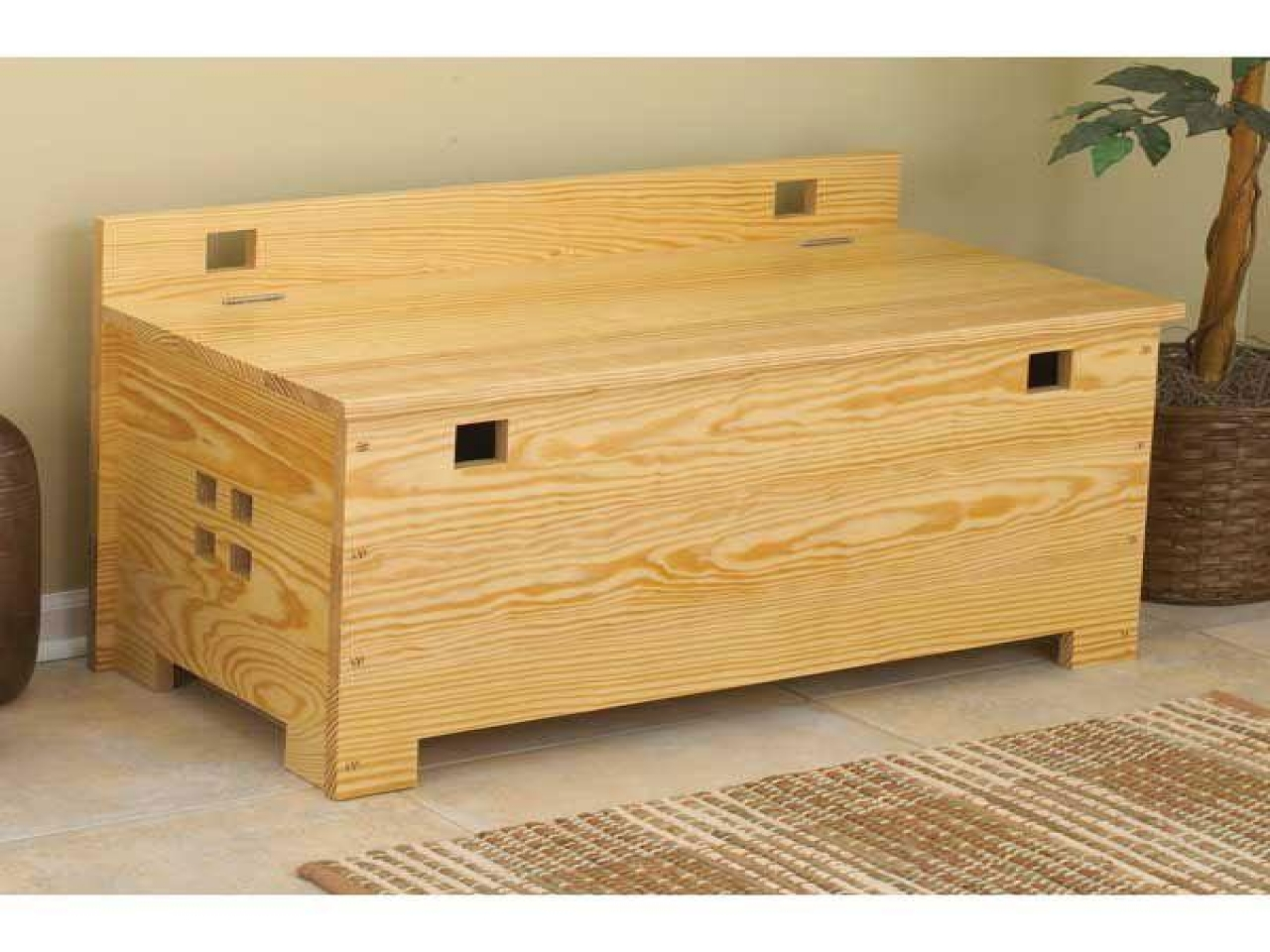 Outdoor Storage Bench Wood Storage Bench Project Plans Wood Home Plans Treesranch Com