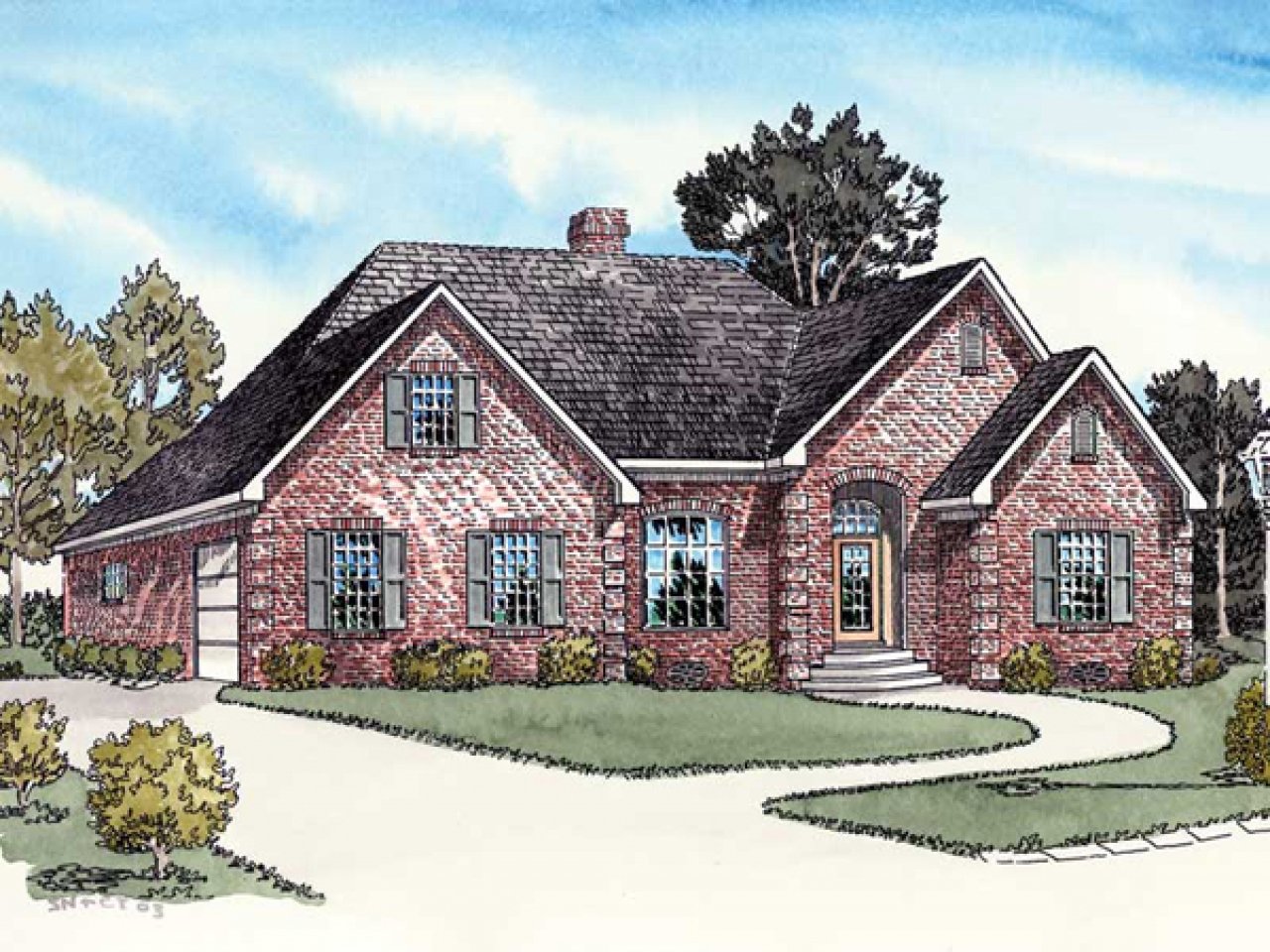 Ranch House Plans With Side Entry Garage Ranch House Plans