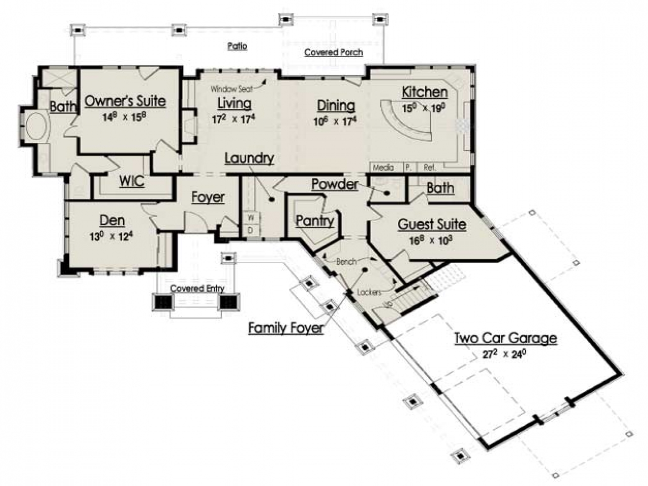 Rustic mountain house floor plans rustic mountain for Rustic floor plans