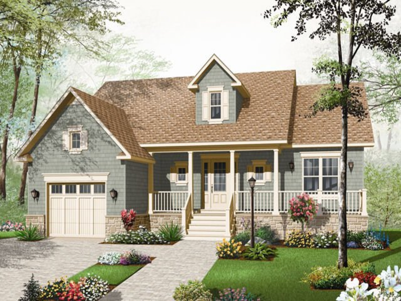 Small country bungalow house plans modern bungalow house for Small bungalow plans