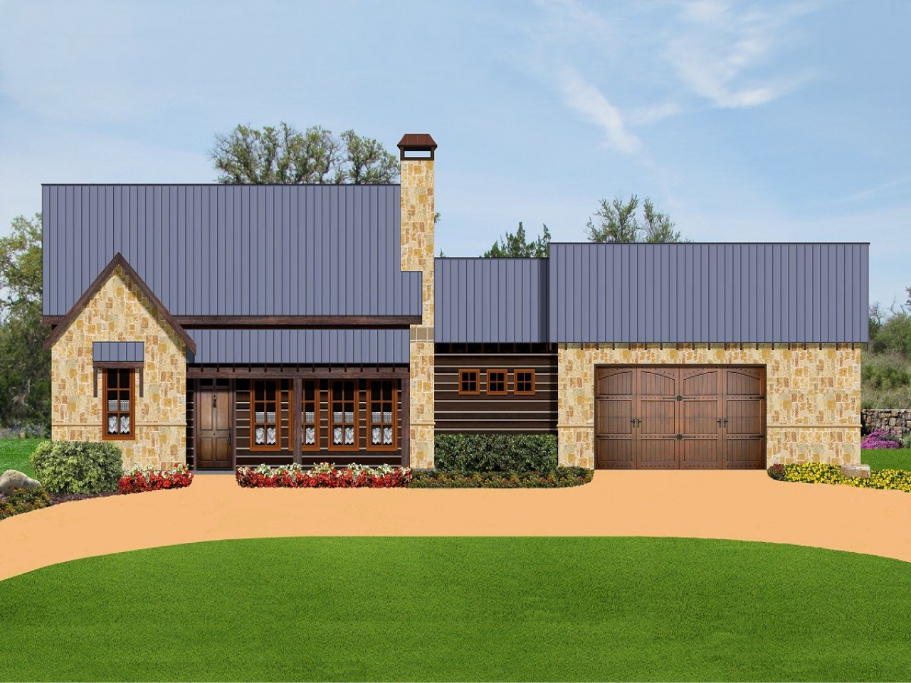 Small texas ranch style home plans texas ranch style for Small house design texas