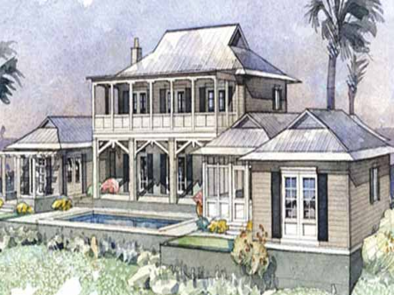 Southern living coastal house plans coastal low country for Coastal farmhouse plans