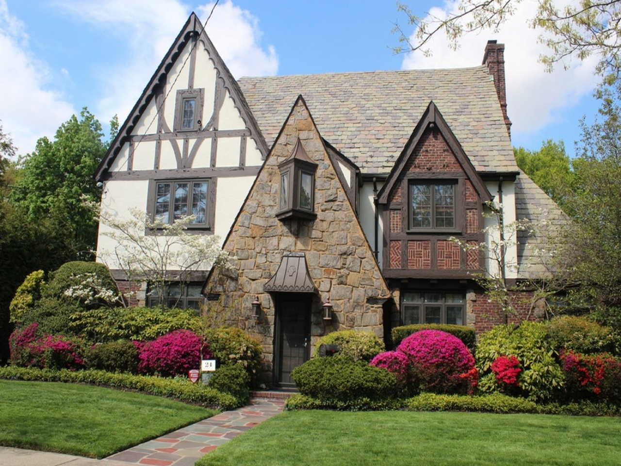 Tudor style house exterior french country tudor house plan for French country tudor house plans