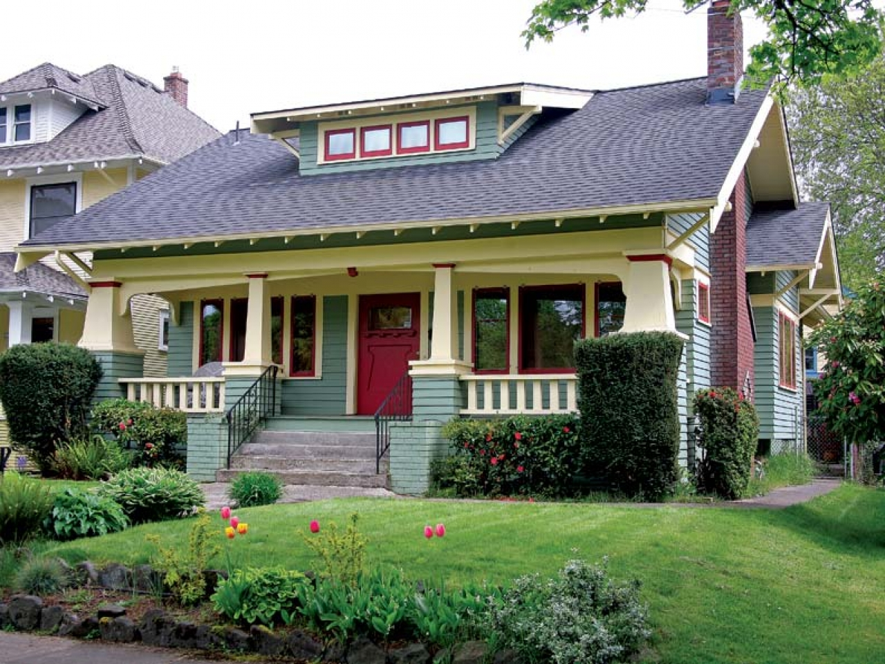 Craftsman Style Doors For Homes Craftsman Style Homes