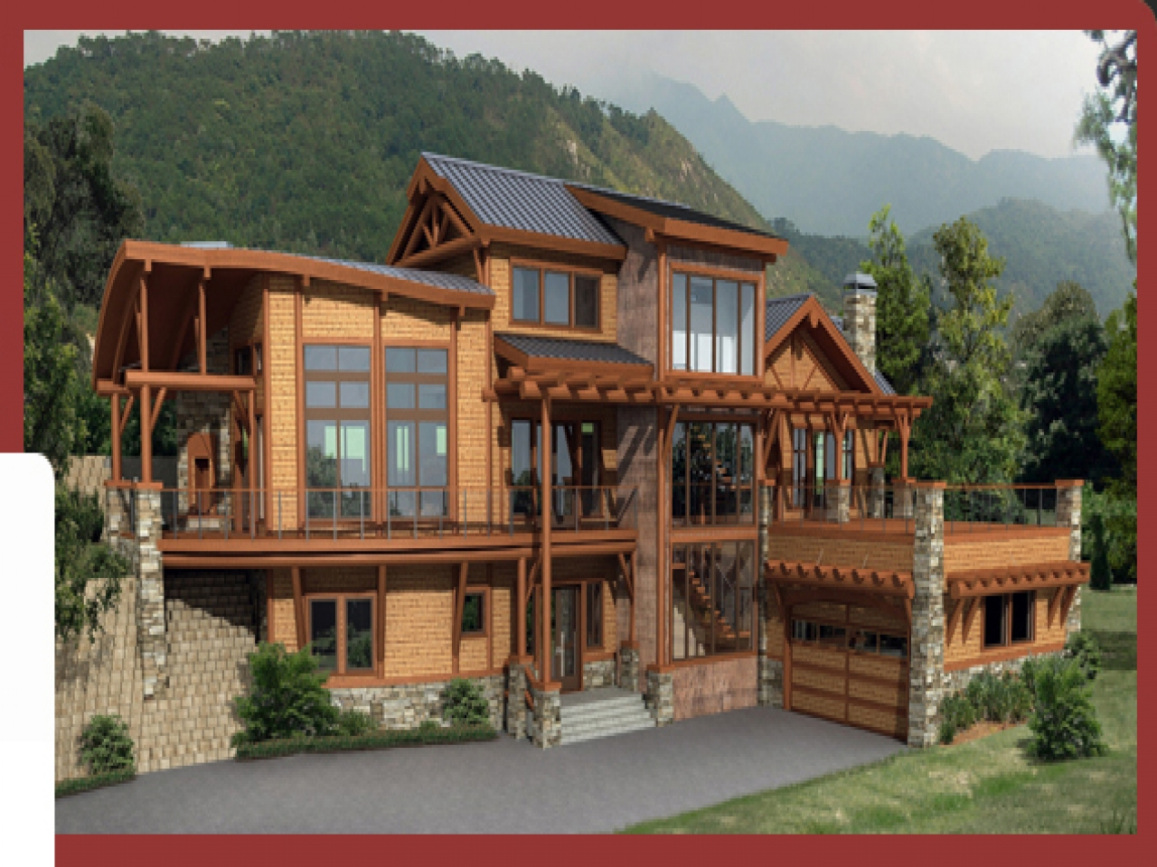 Custom built log homes custom log home plans wholesale for Custom made homes