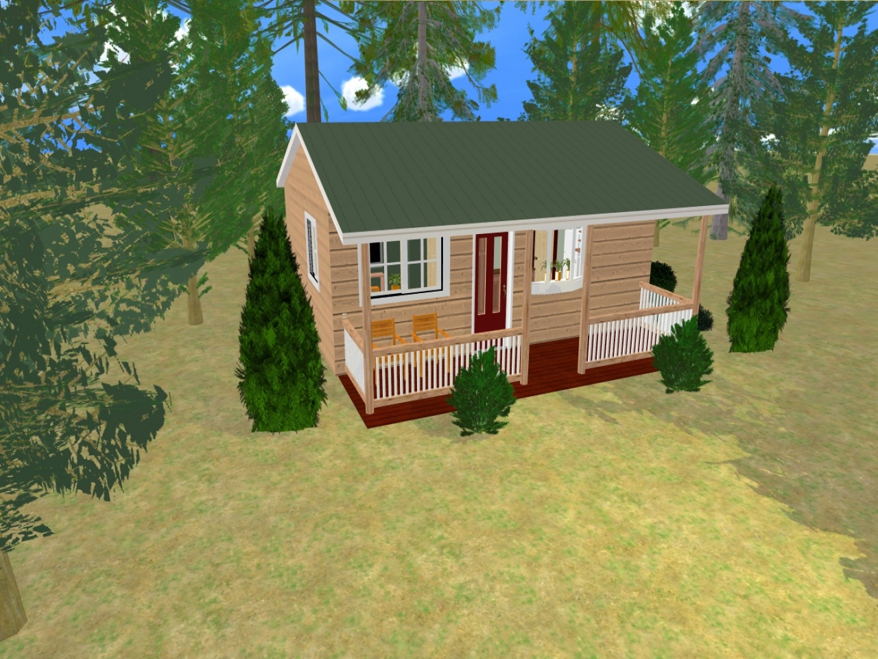 cute small house bedroom 2 3d small 2 bedroom house plans
