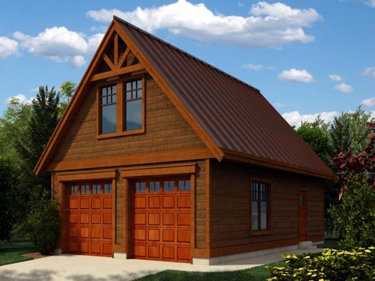 Garage plans with loft contemporary garage plans with loft for Contemporary log home plans