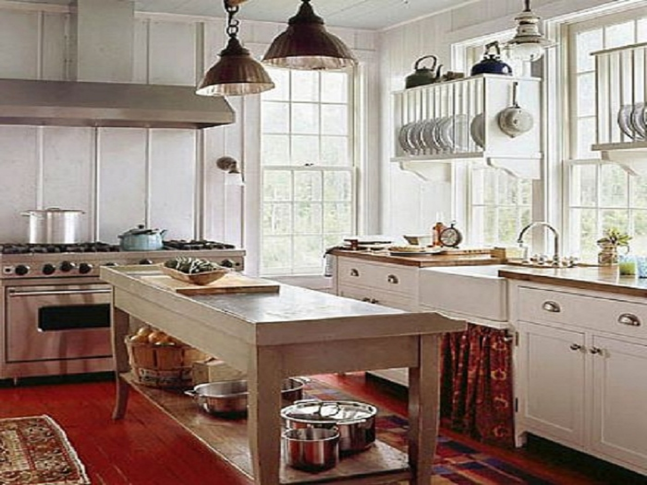 Kitchen Photos Small Country Cottage Decorating Ideas