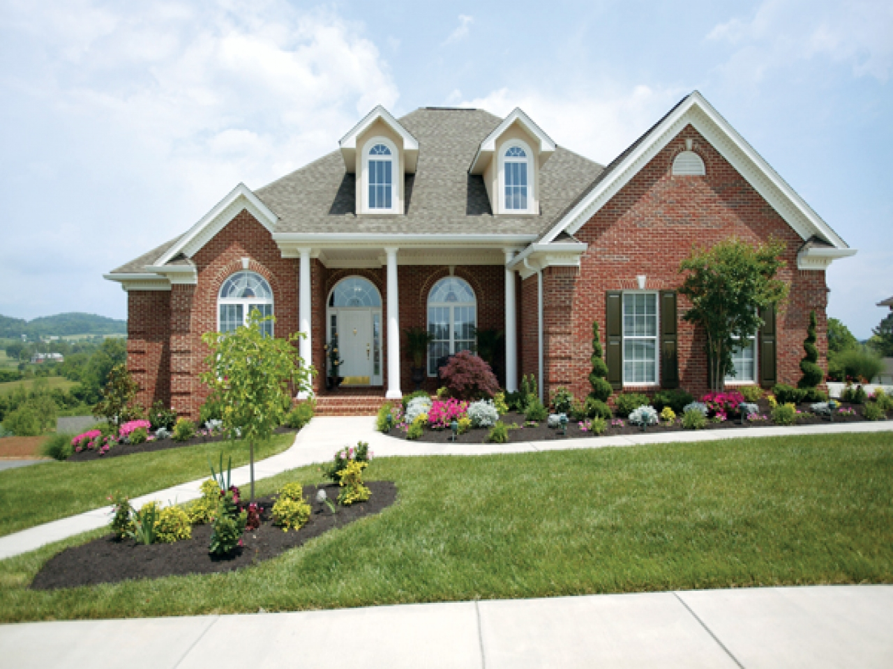 One story house plans open one story house plans single for House plans for rural properties