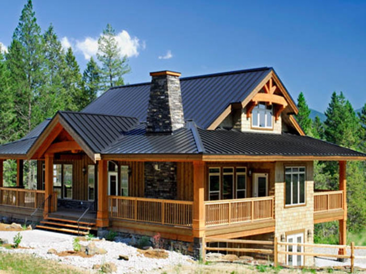 Post And Beam Foundation Cabin Small Homes