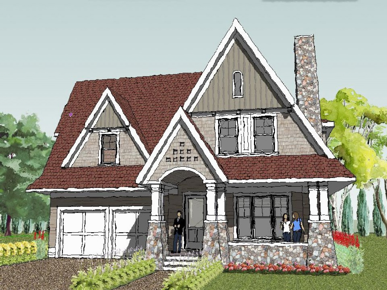 Simple Roof Line House Plans Simple Roof House Plans