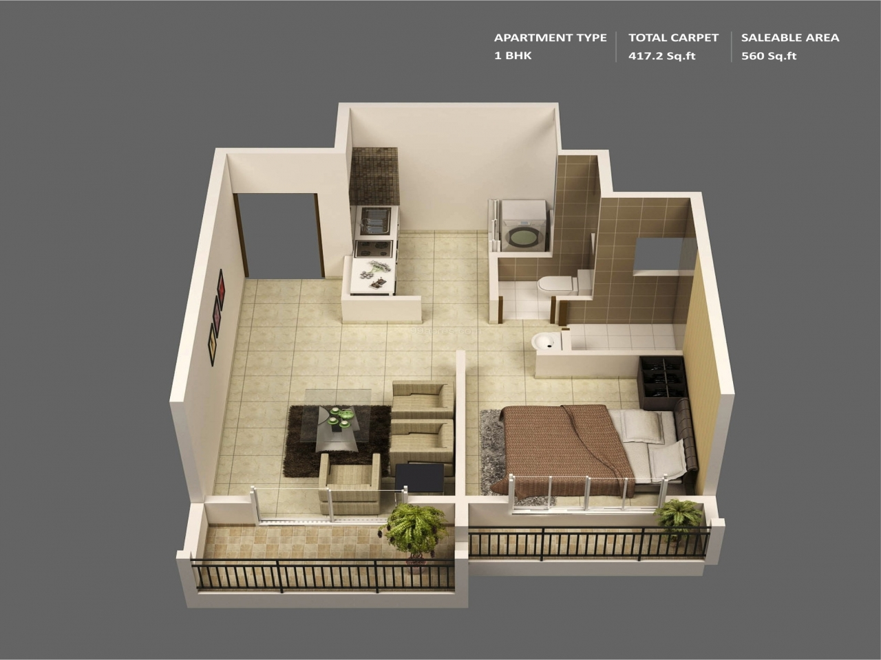 Small cottage house plans small house plans 1 bedroom for Small apartment floor plans one bedroom
