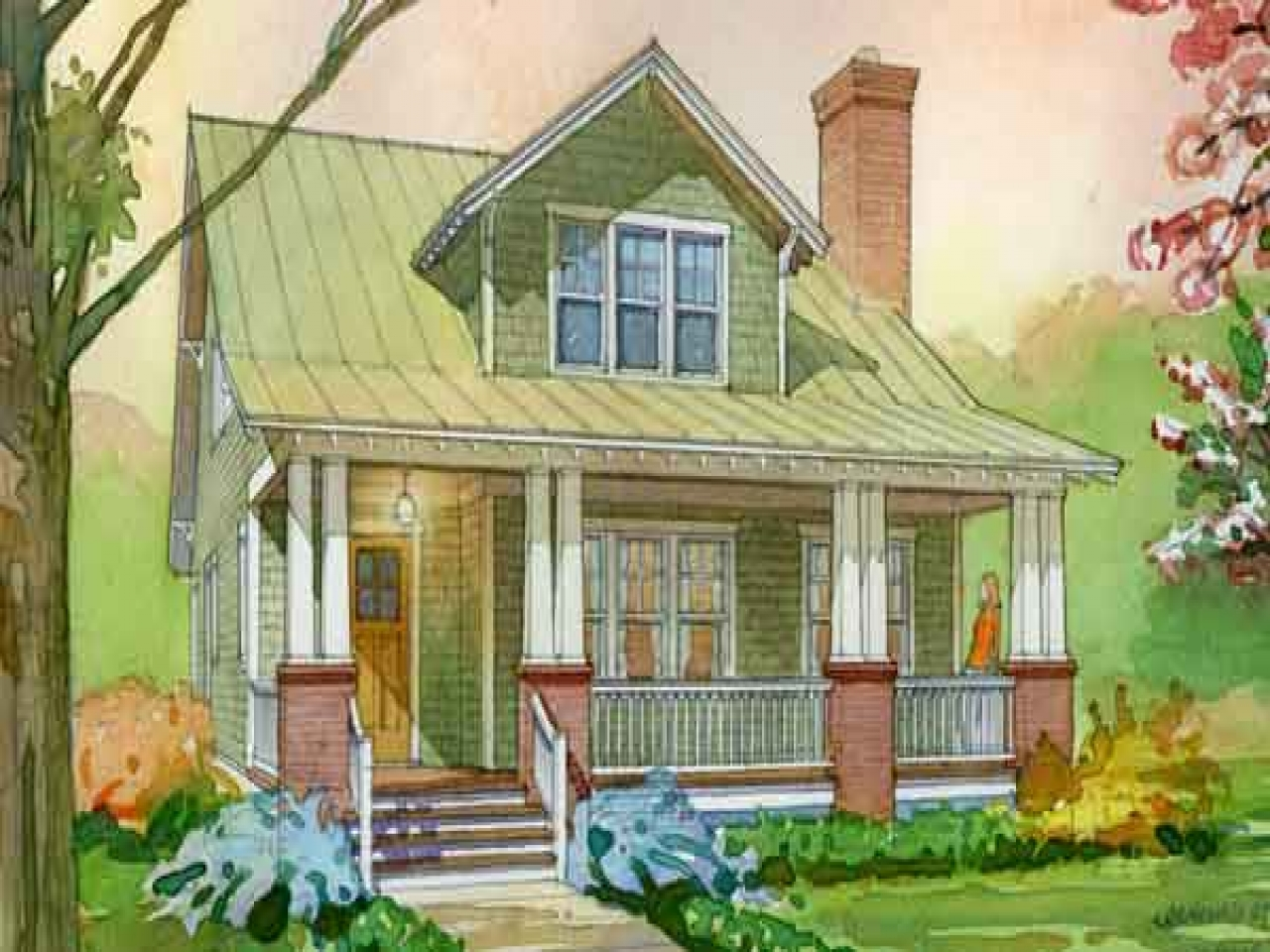 Southern living aberdeen cottage house plan pictures for Southern cottage home plans