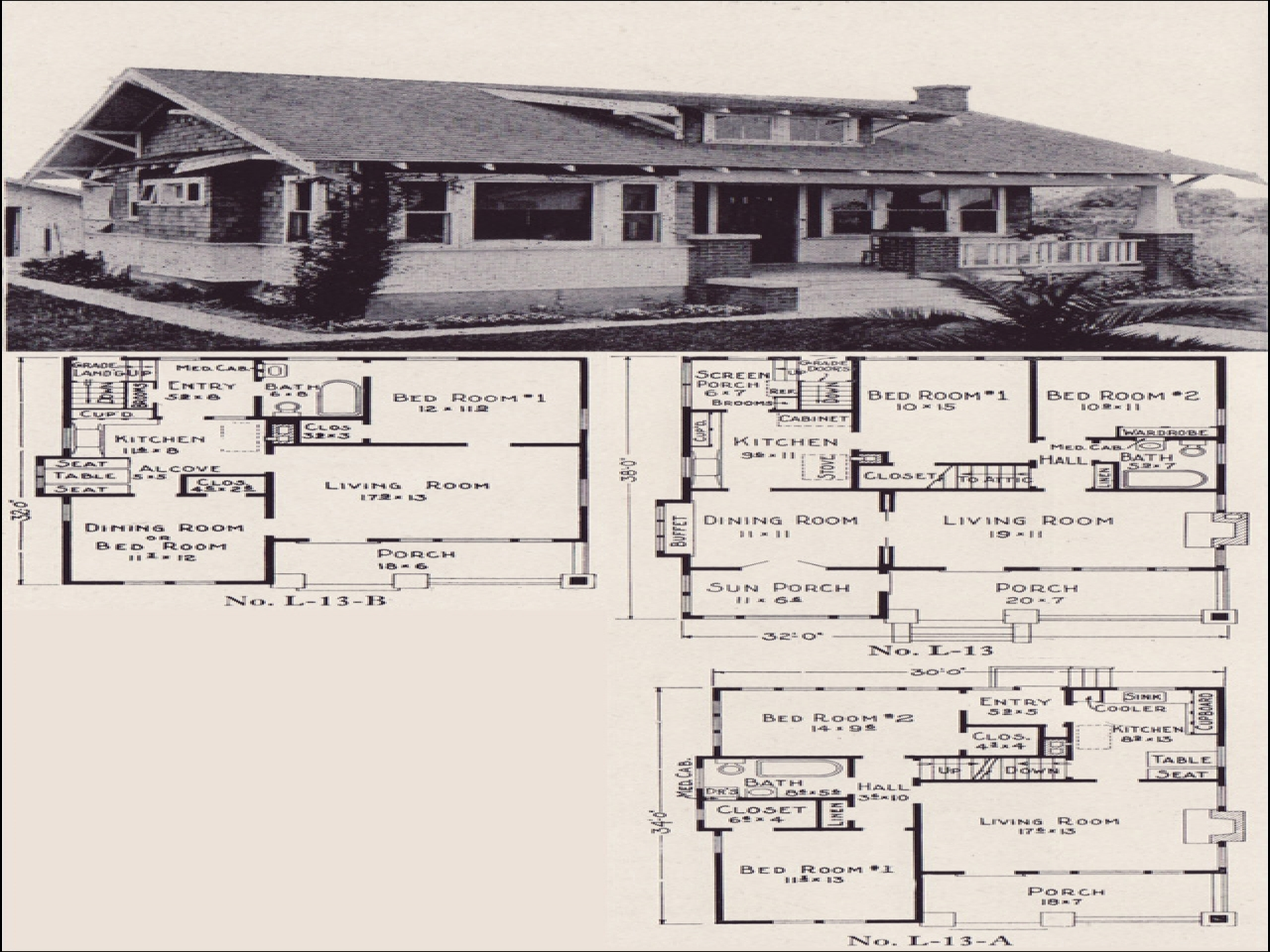 Bungalow House Plans California Bungalow House Floor Plans