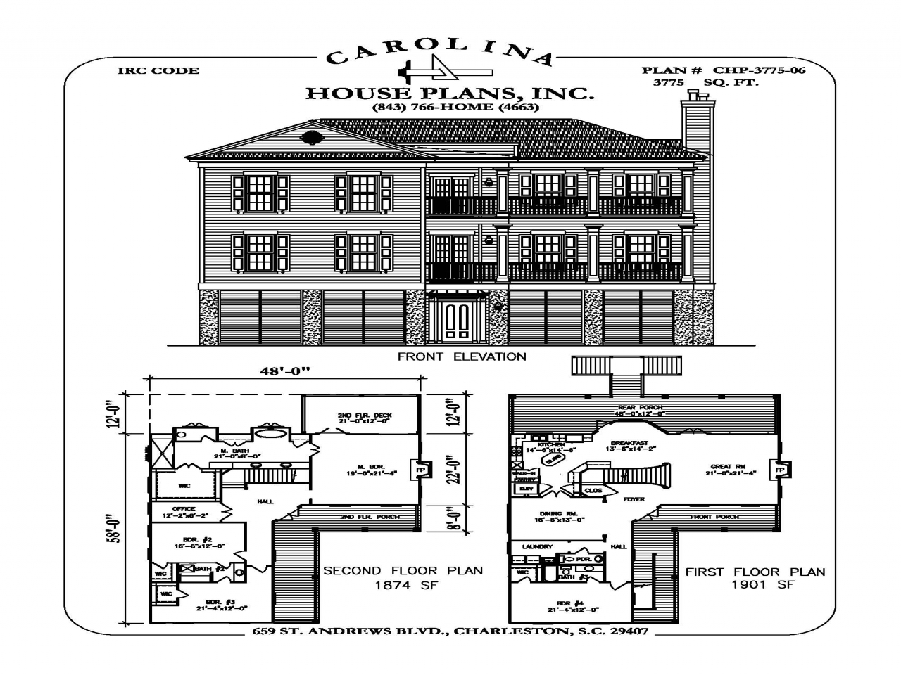 Carolina country club floor plans carolina country club for Carolina house plans
