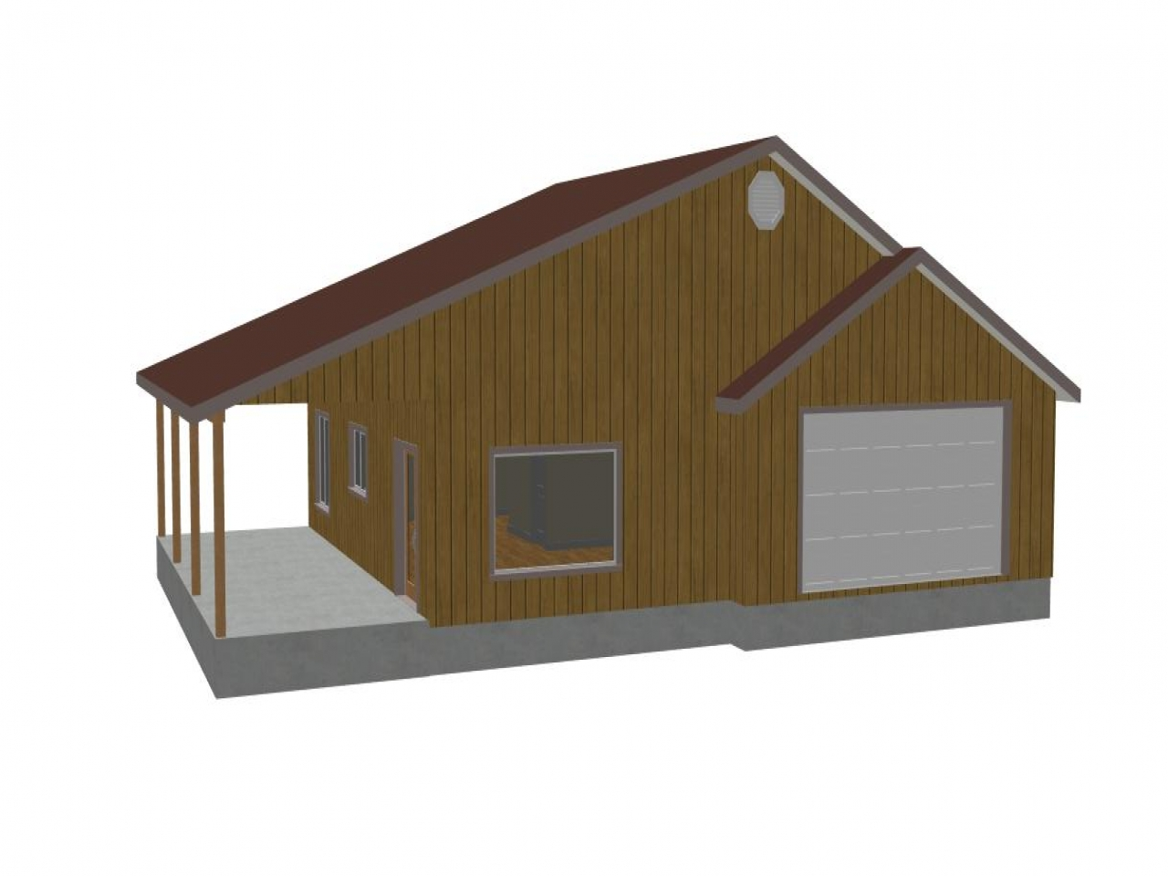 Detached 2 car garage plans detached garage with workshop for 2 stall garage plans