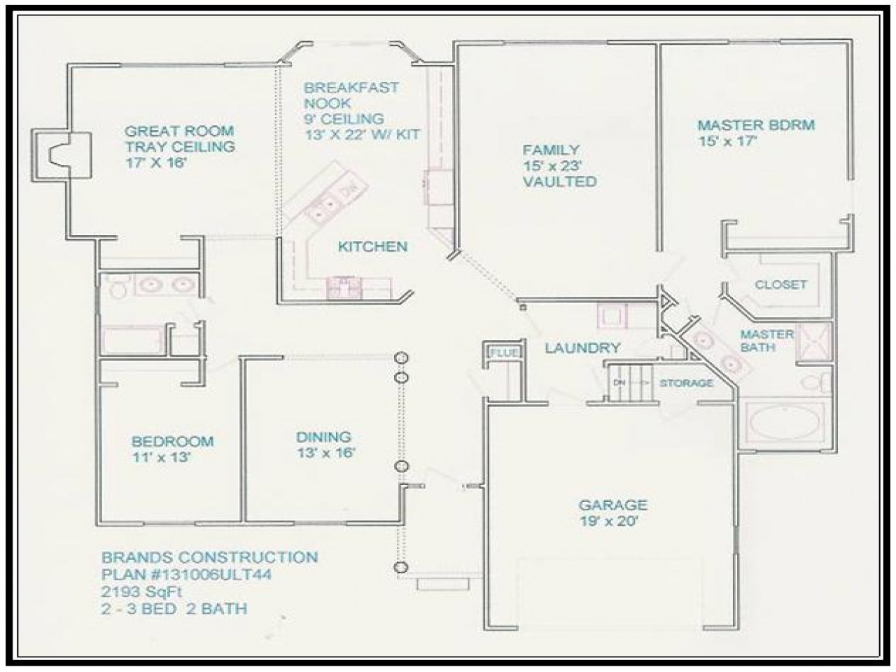 Free House Floor Plans And Designs Free Home Floor Plans 4