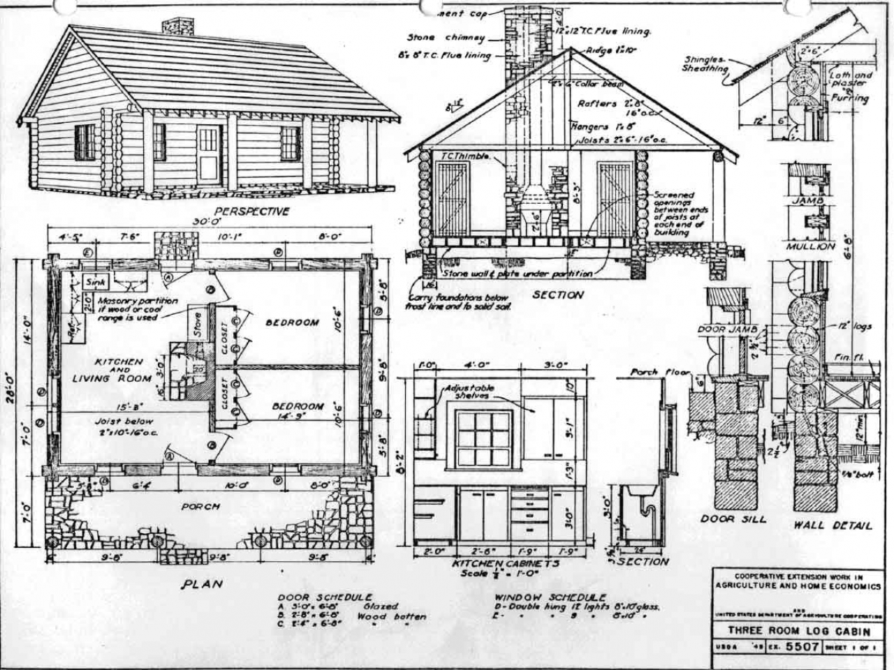 Log cabin blueprints small cabin blueprints cabin blue for Cabin design software free download