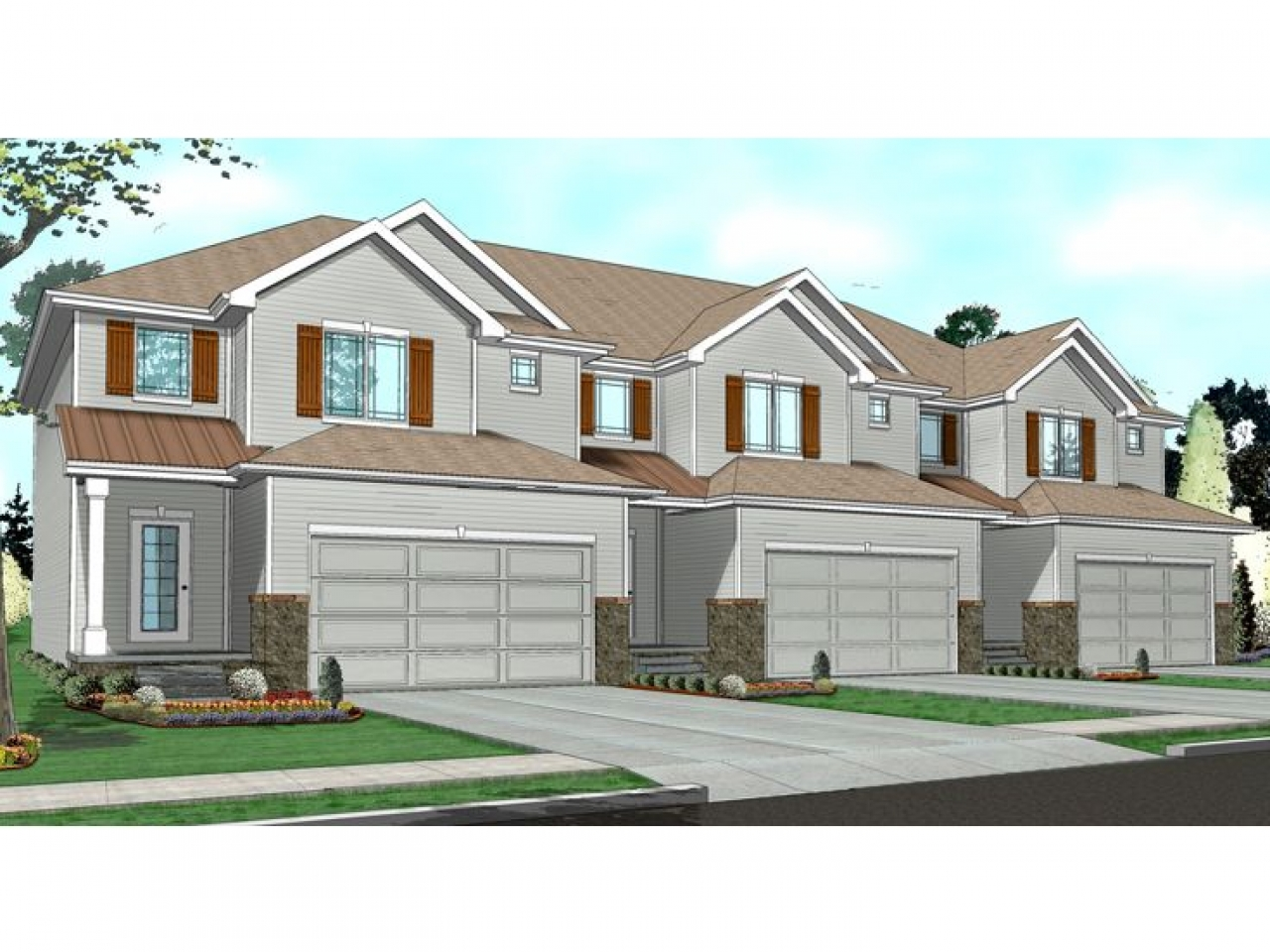 Townhouse with garage plans townhouse floor plans 1 story for 3 story townhomes