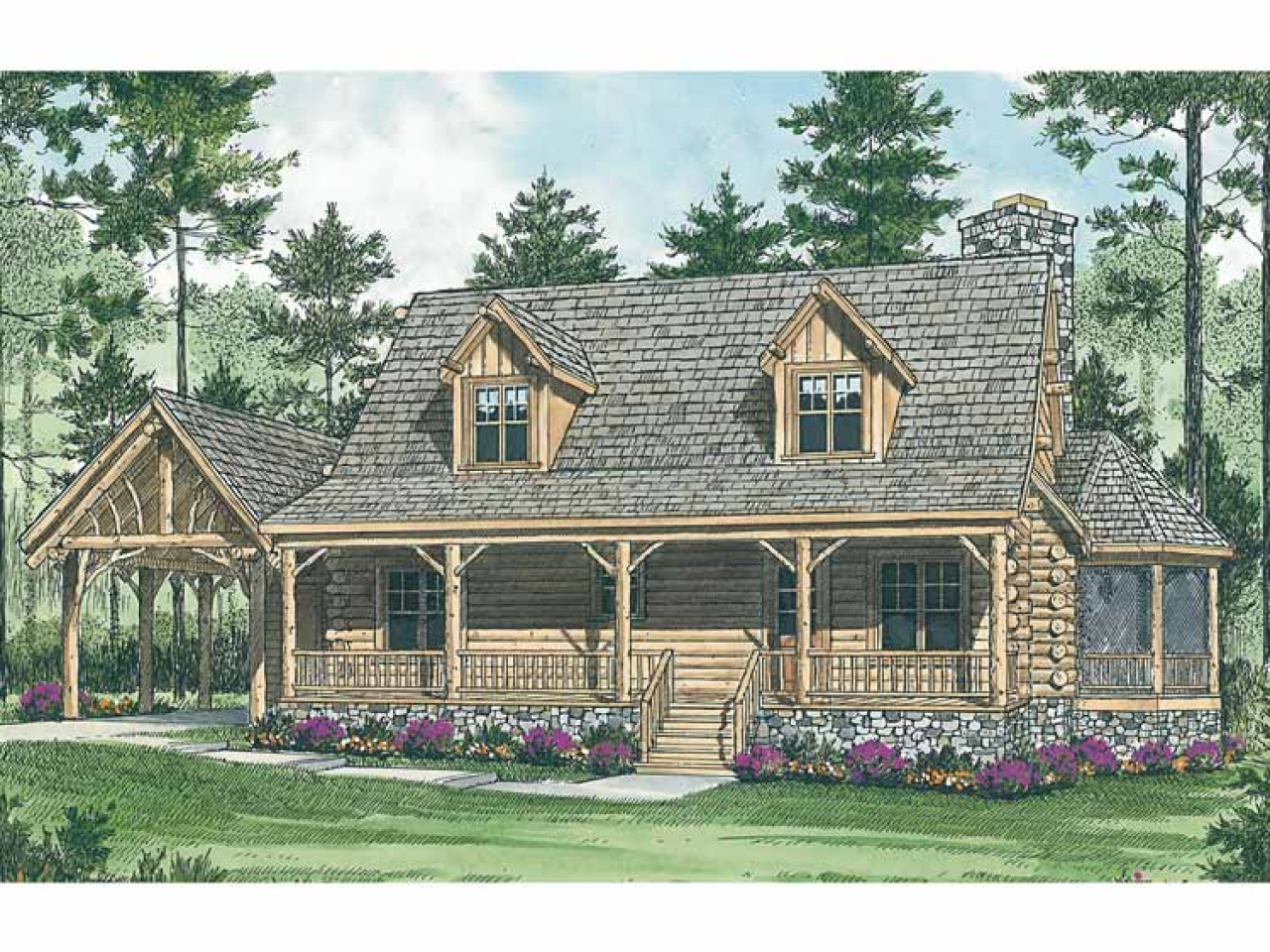 Expensive mountain log cabin mountain log cabin house for Extravagant log homes