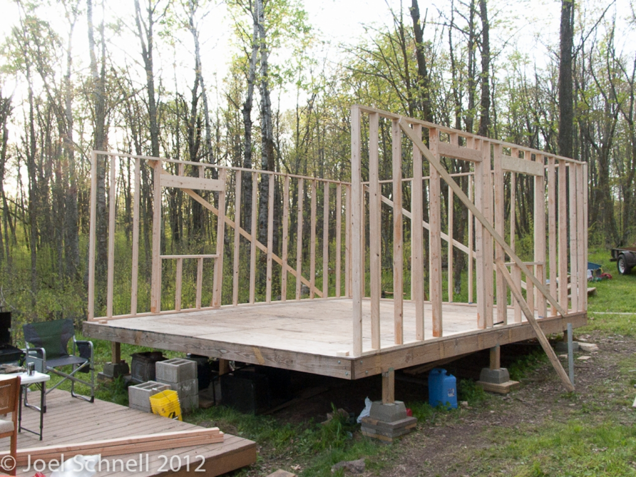 Hunting Cabin Interior Building A Hunting Cabin In The