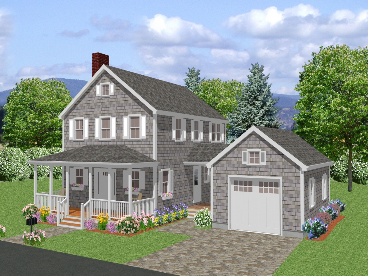 New england colonial historical homes new england colonial for New england home builders