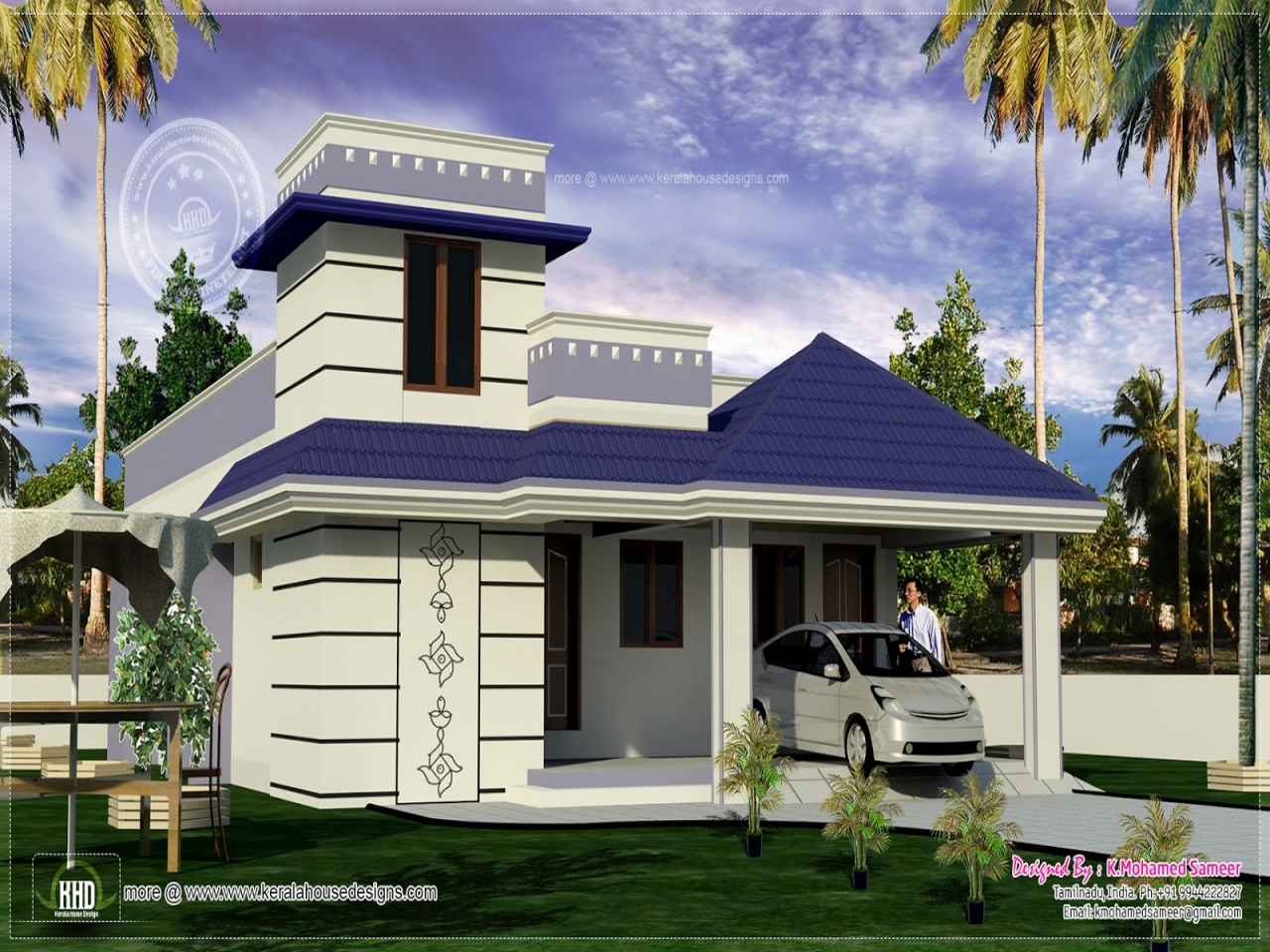 Ranch style house exterior designs single floor house for One floor house exterior design