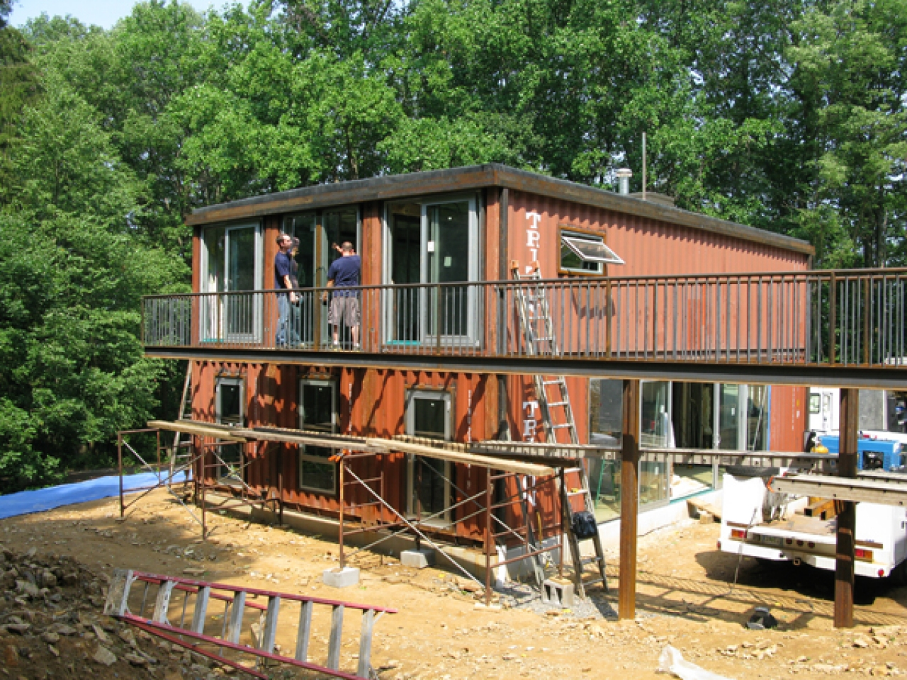 Shipping Container Home Modern Shipping Container Homes