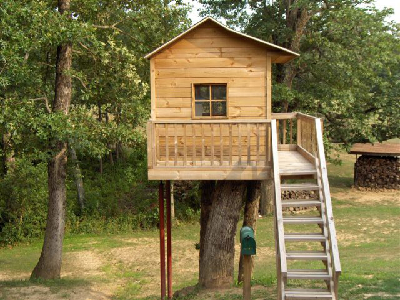 Do It Yourself Home Design: Simple Tree House Design Plans Cool Tree House Plans