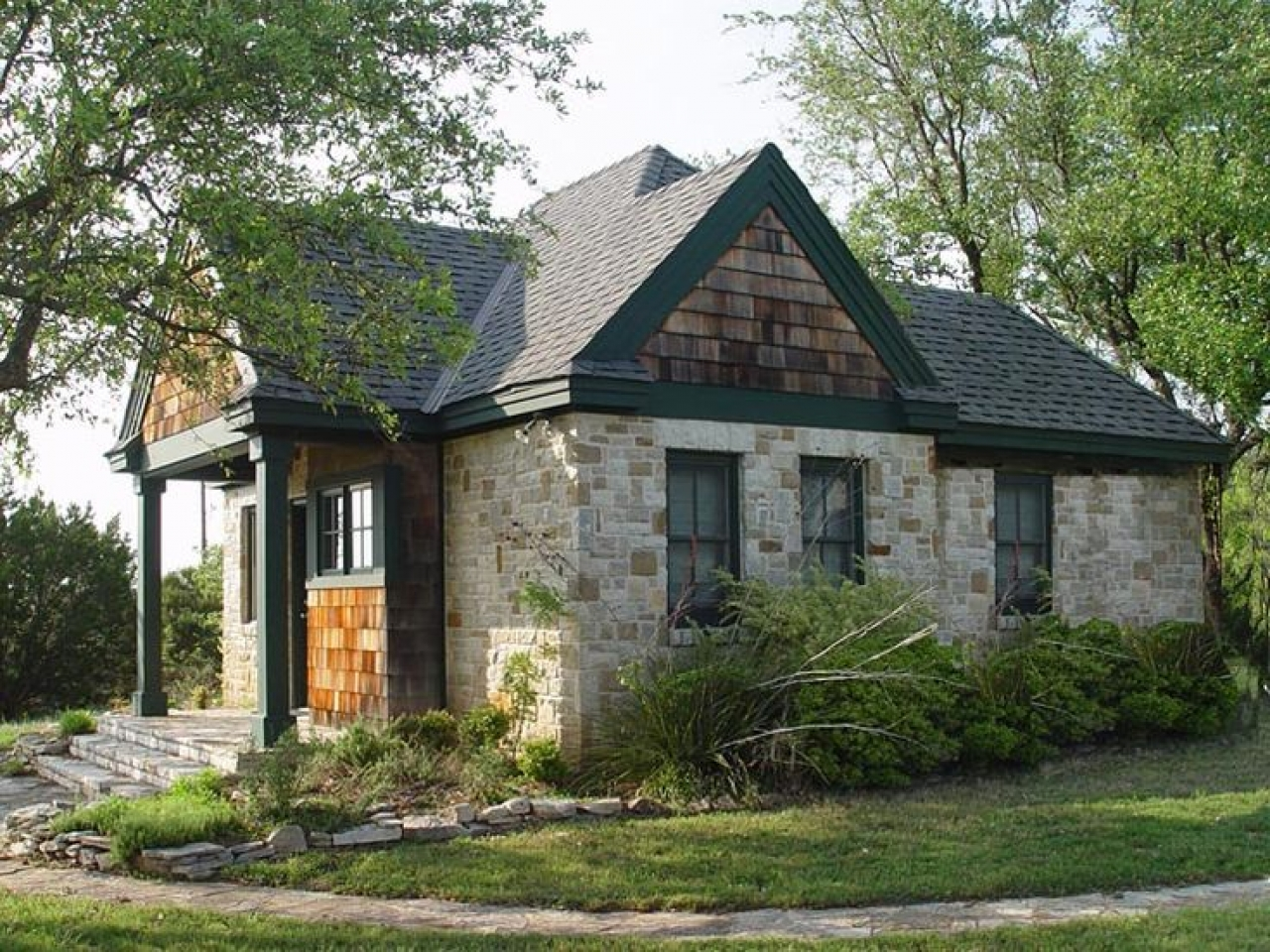 Small Craftsman Cottage House Plans Small Cottages With