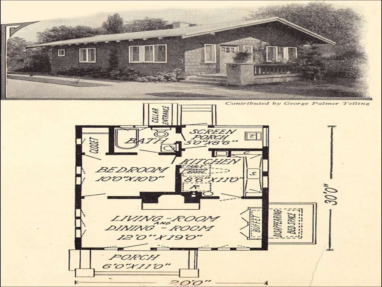 small house plans storybook cottage small cottage house