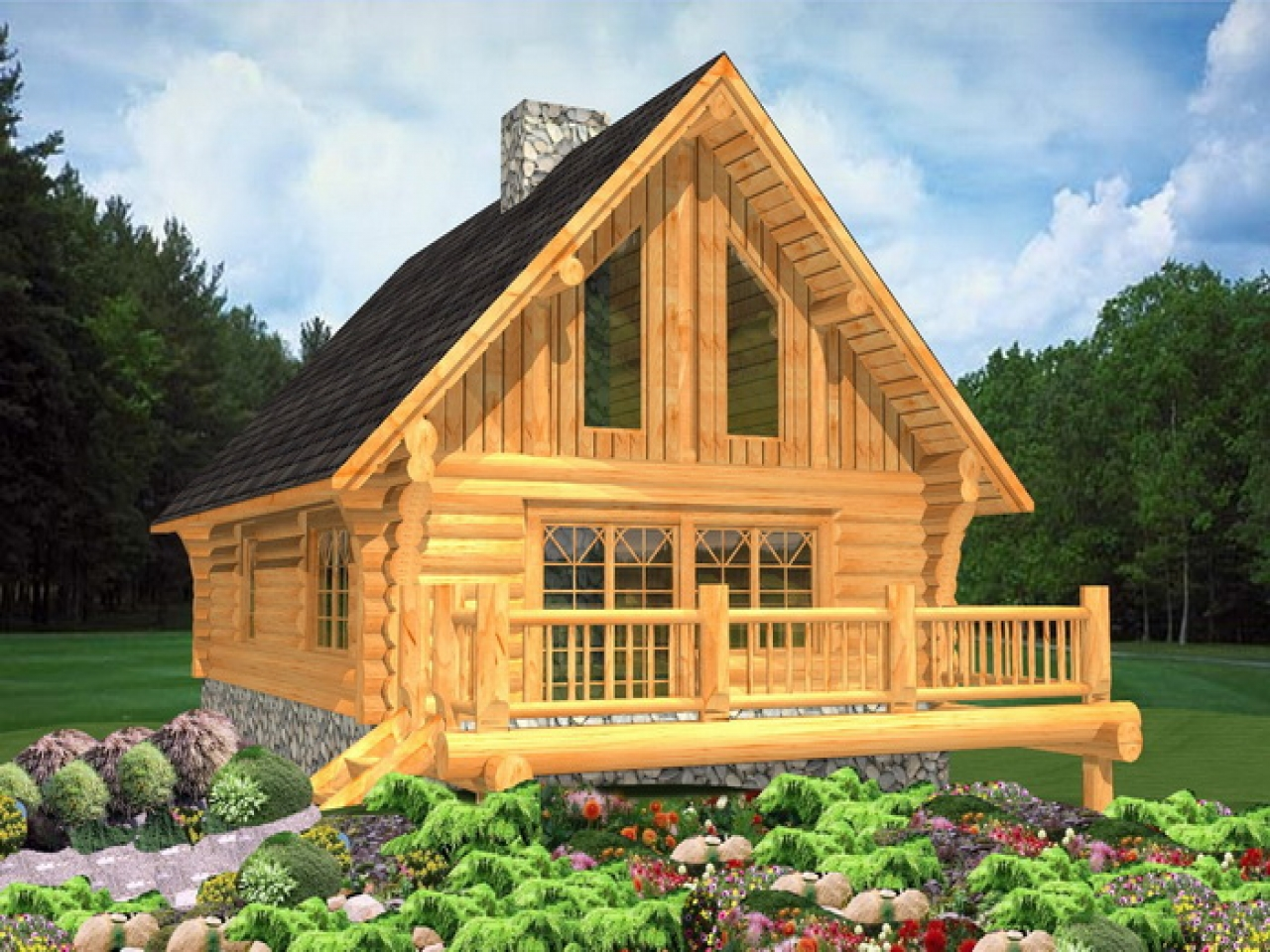 Biggest luxury log home luxury log cabin home plans log for Luxury timber homes