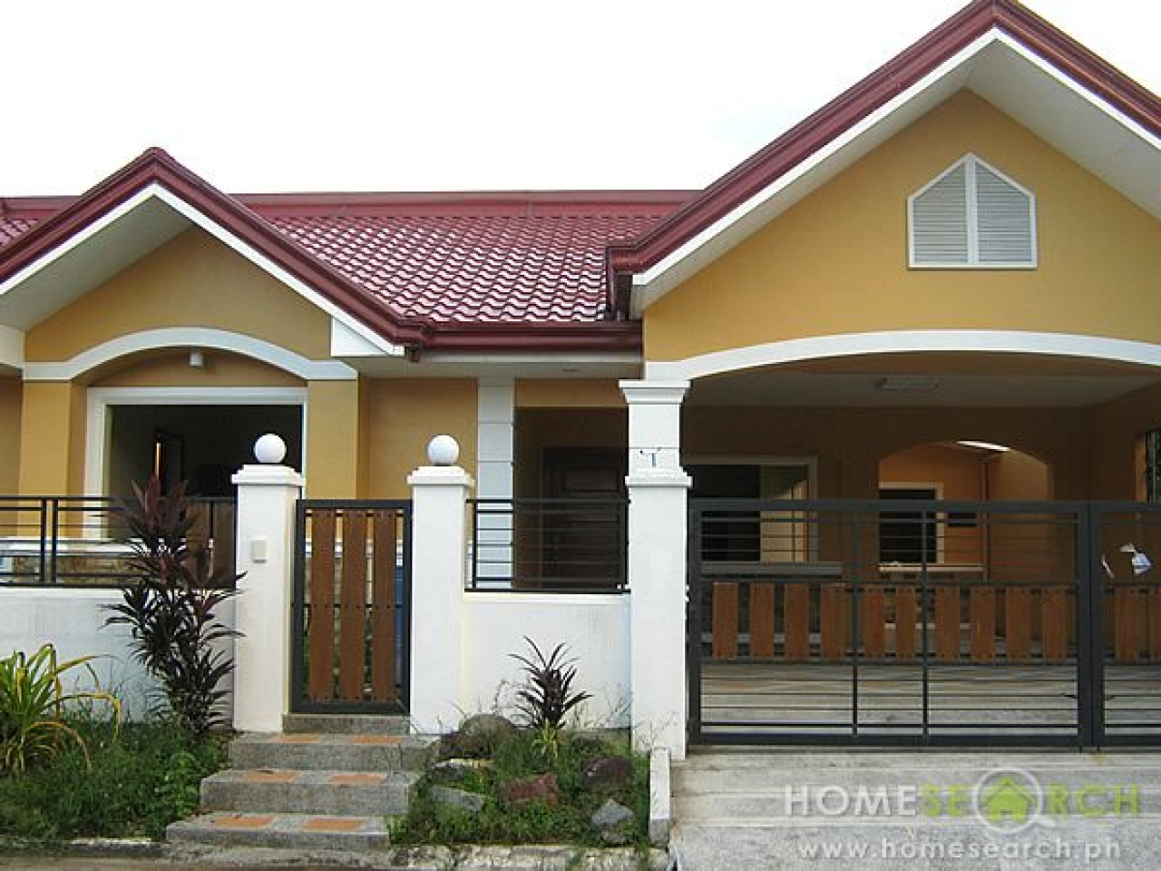 Bungalow style house design philippines prairie style for Philippine bungalow house design pictures