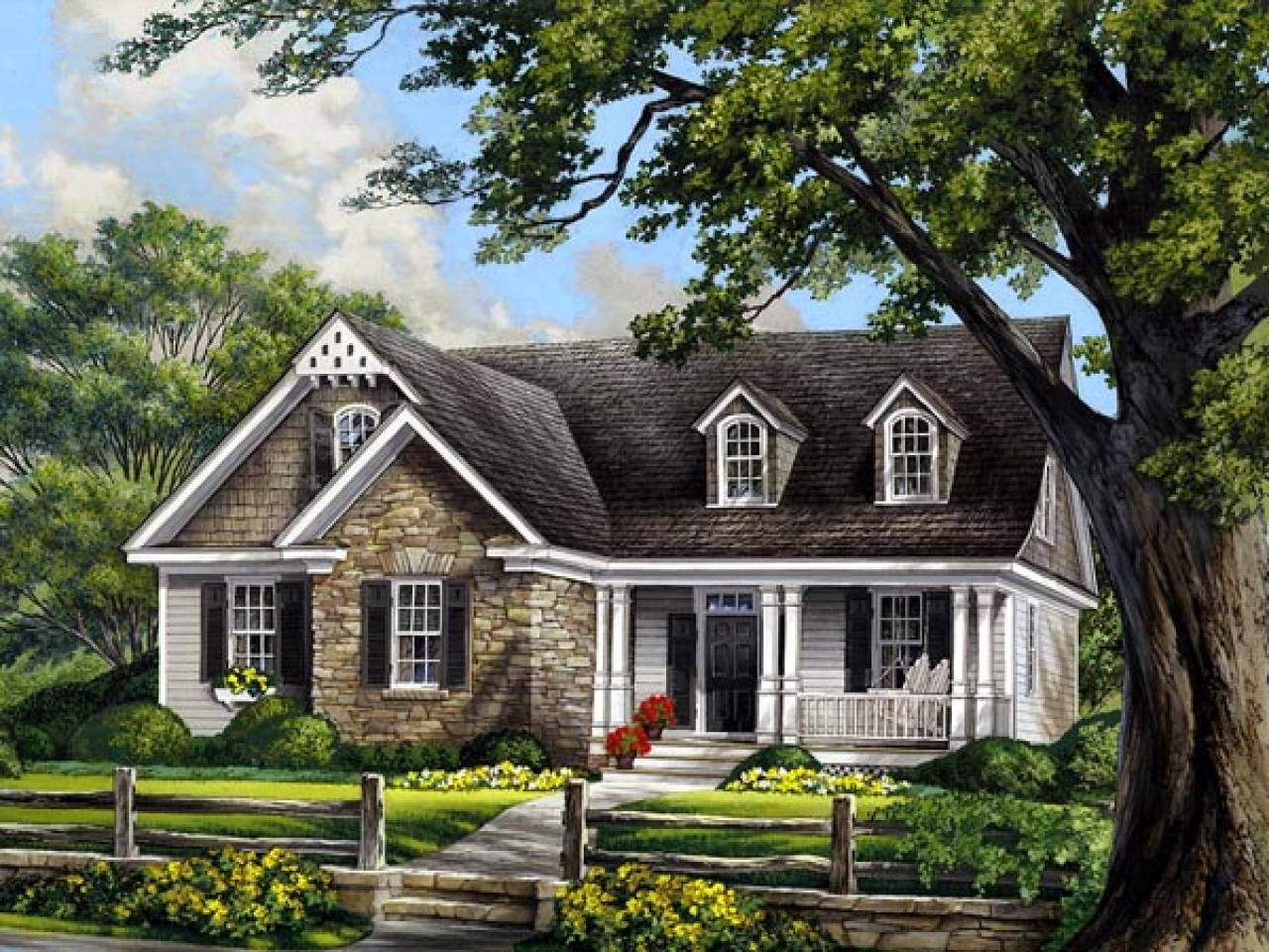 Cape cod cottage house plans cape cod beach cottage for Cape cod cottage style house plans