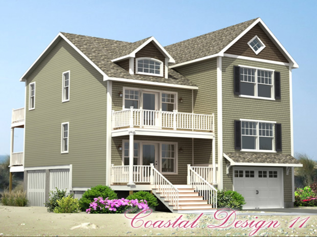 Coastal Modular Home Designs Cottage Style Modular Home