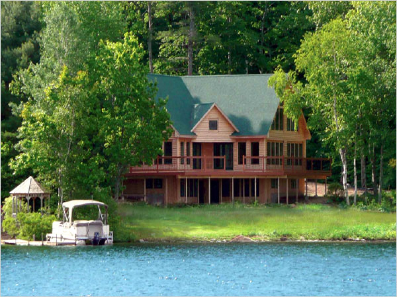 Maine lakes real estate maine lakefront homes for sale for House plans maine