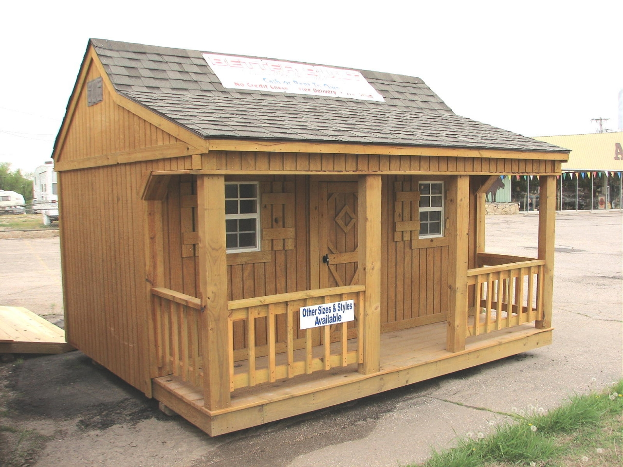 Portable Sheds And Buildings : Mini storage building kits portable buildings
