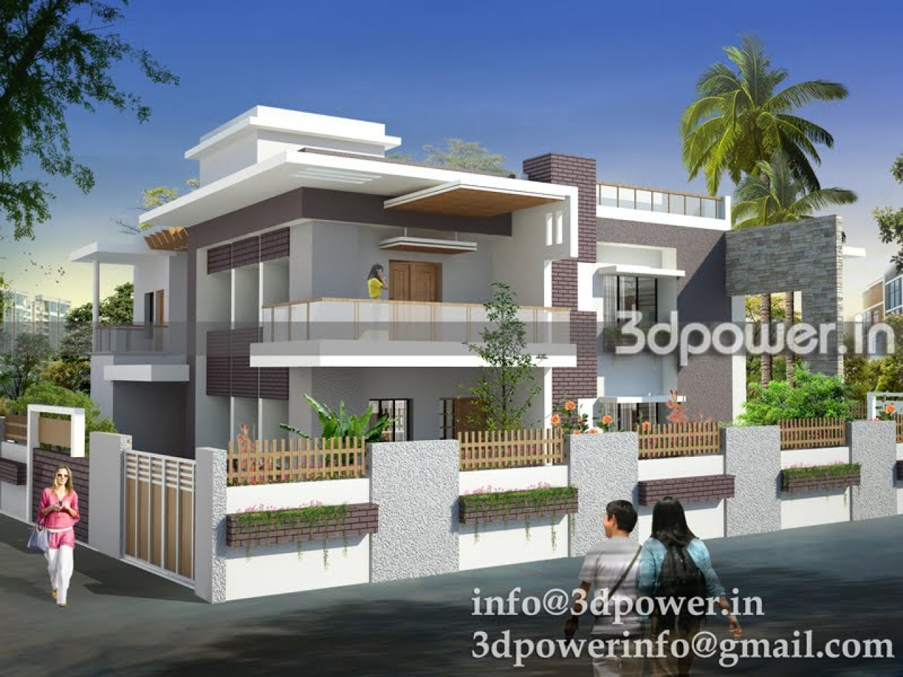 Modern bungalow house designs philippines modern asian - Contemporary house plans and designs ...
