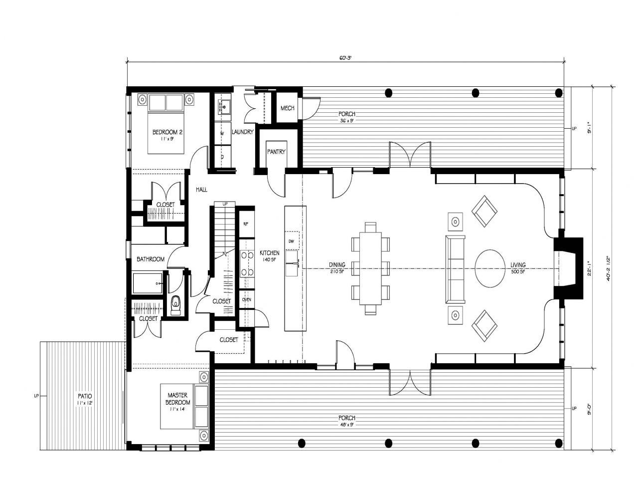 Old fashioned farmhouse floor plans modern farmhouse floor for Modern country floor plans