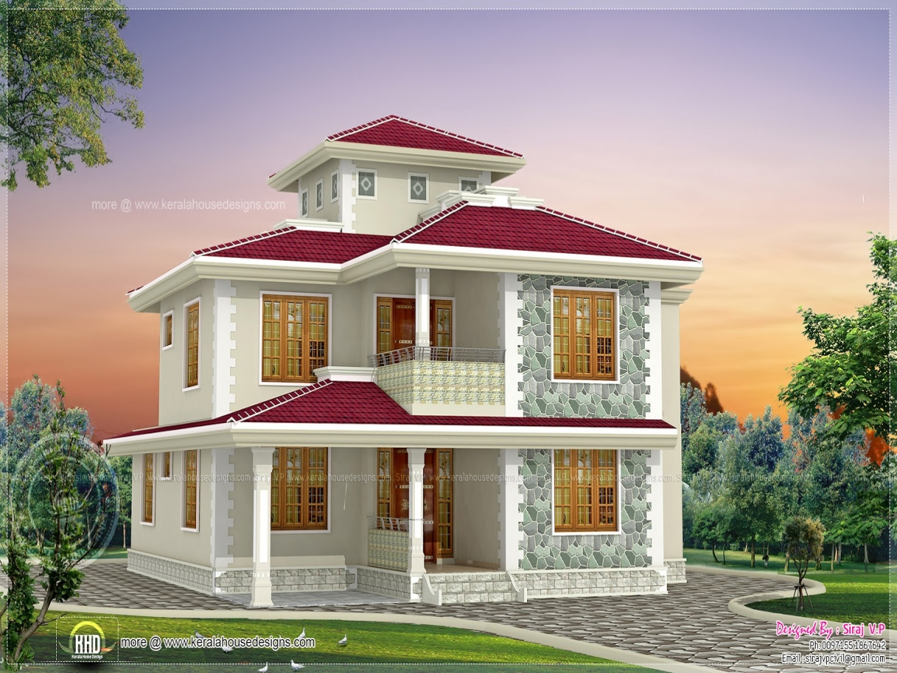 Single Storey Kerala Home Design Pictures Style Kerala