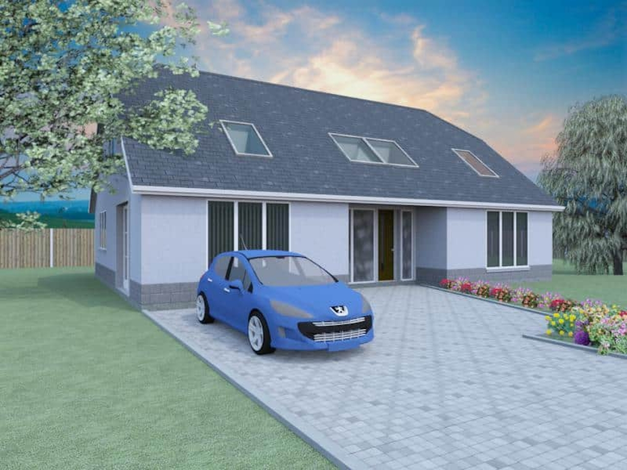 2 bedroom bungalows with dormer house plans 2 bedroom flat for 2 bedroom bungalow