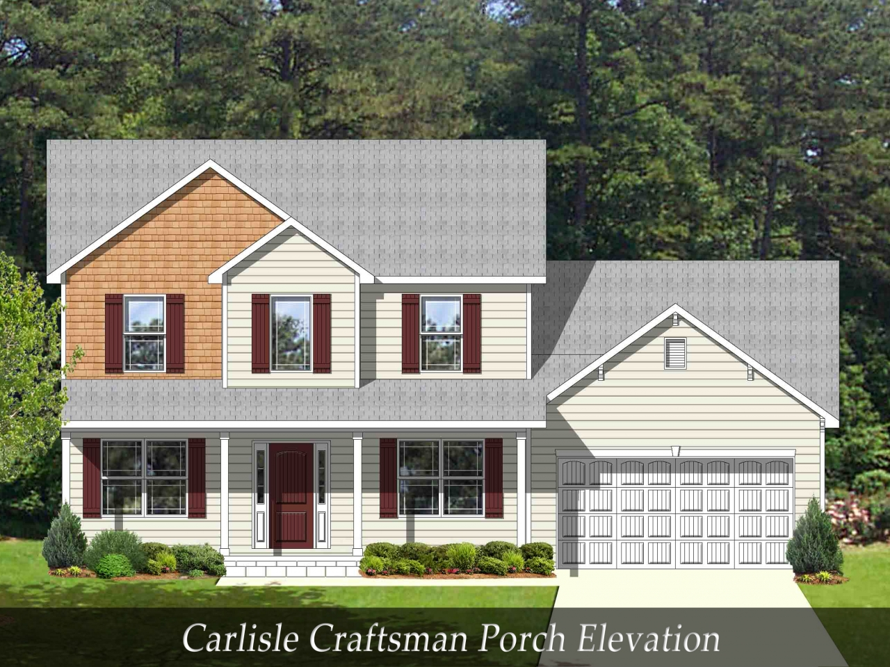 Craftsman style homes with front porch craftsman homes for Craftsman home plans with porch