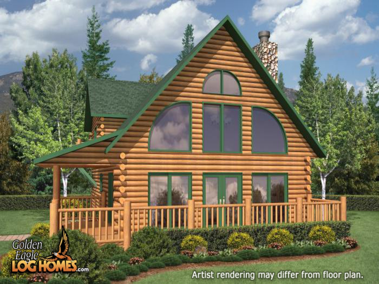 Hiawatha 21 Floor Plan 100 Floors 30 Floor Log Home Plans