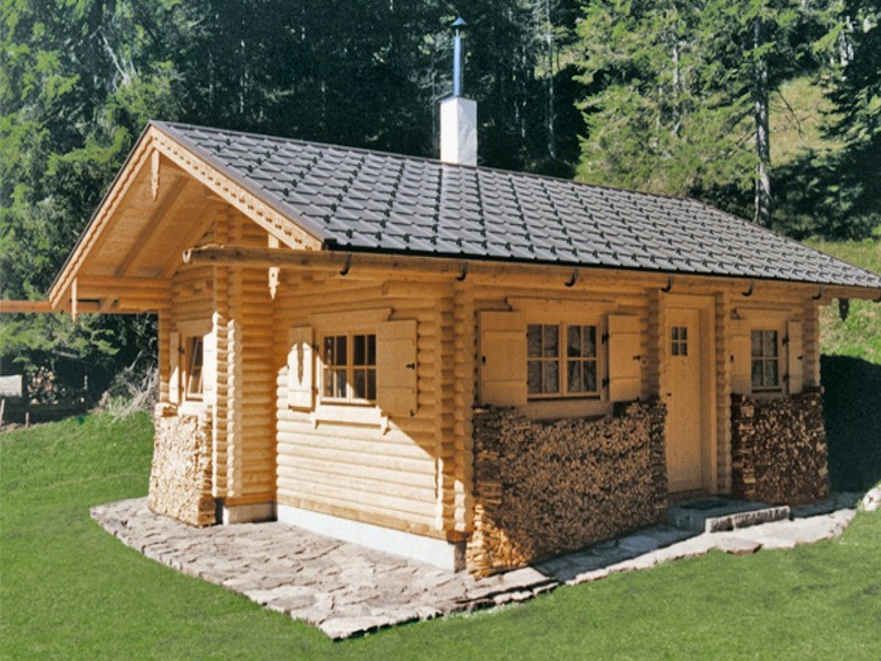 Hunting cabin plans inexpensive small cabin plans hunting for Small hunting cabin designs