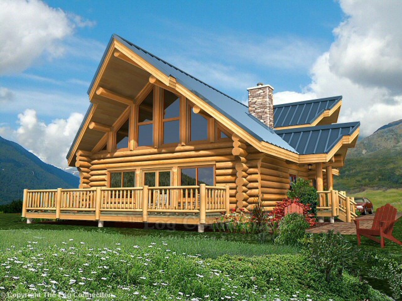 Log home plan prices pictures luxury log home plans log for Luxury log home plans with pictures