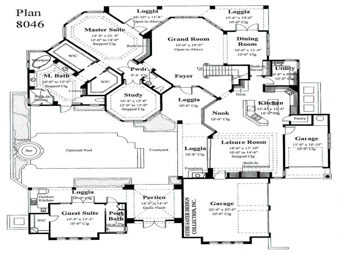 Master bedroom first floor house plans small master for House plans with master bedroom on first floor