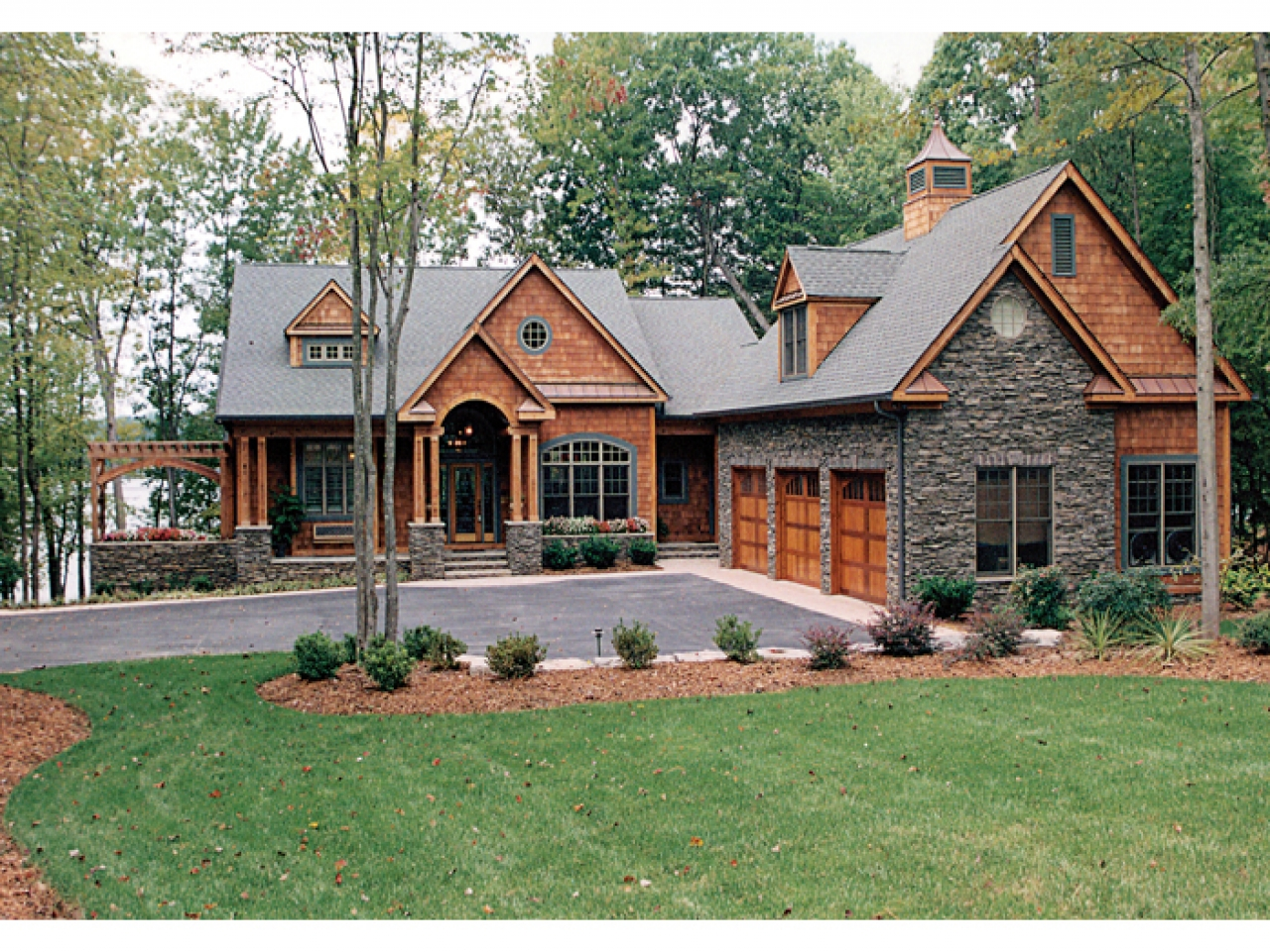 Mountain Craftsman House Plans Craftsman House Plans Lake ...