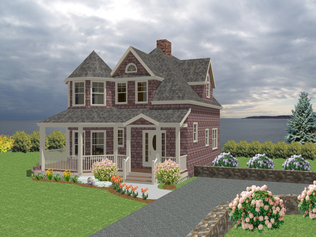 New england style homes new england cottage house plans for England house plans