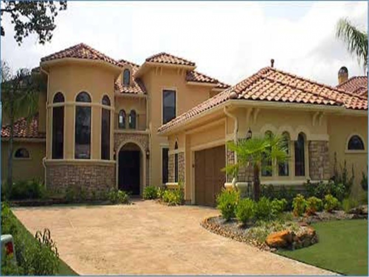 Spanish style house plans spanish bungalow house plans for Villa style homes