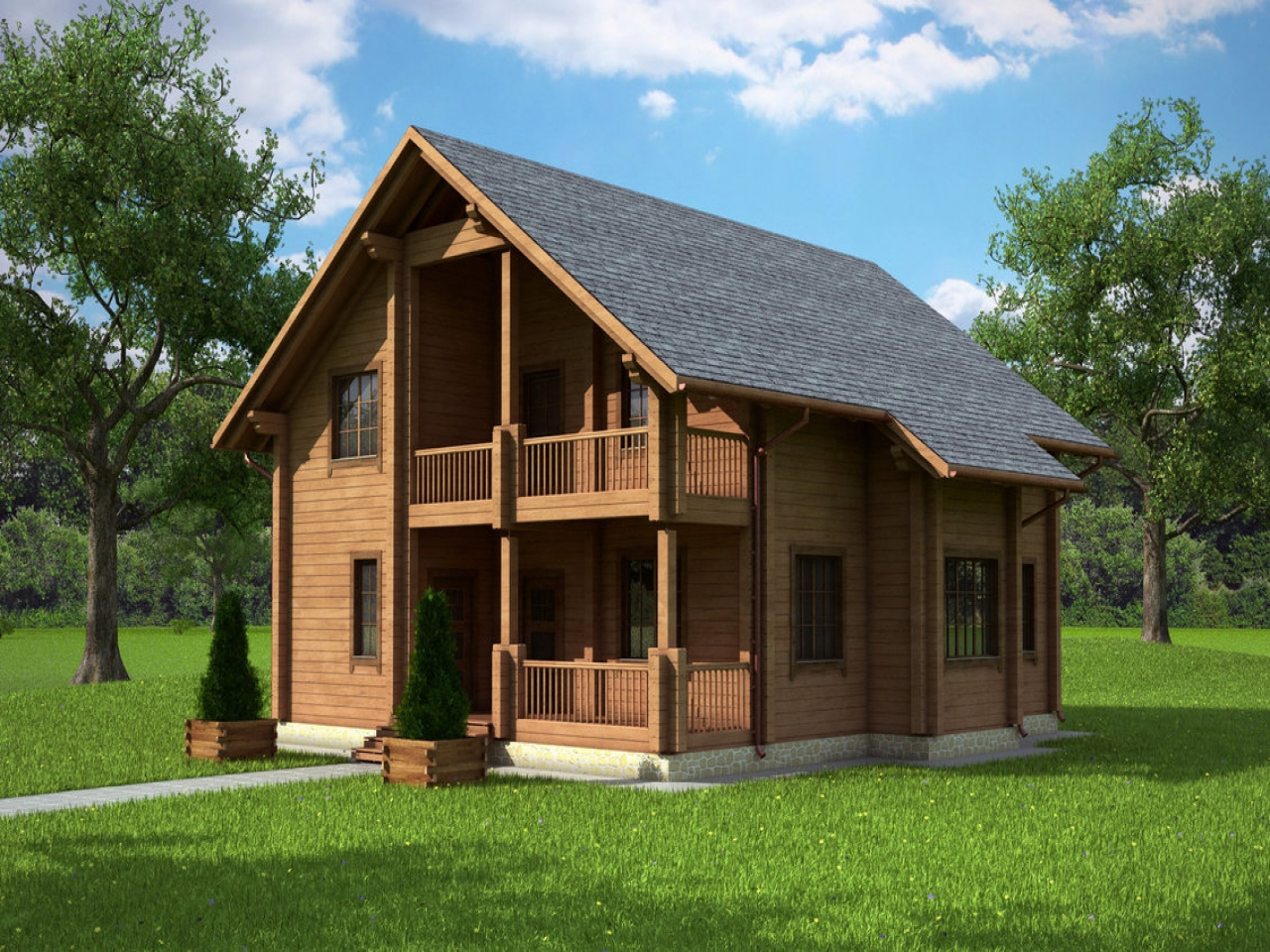 Country Cottage House Plans With Porches French Country